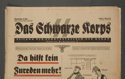 """Crni korpus"" – Das SchwarzeKorps"