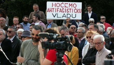 Jasenovac na Trgu žrtava fašizma 22. 4.2016.