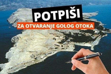 Peticija za otvaranje Golog otoka zbog kažnjavanja pljačke društva igrađana