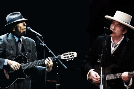 Leonard Koen i Bob Dilan: poezija i popmuzika