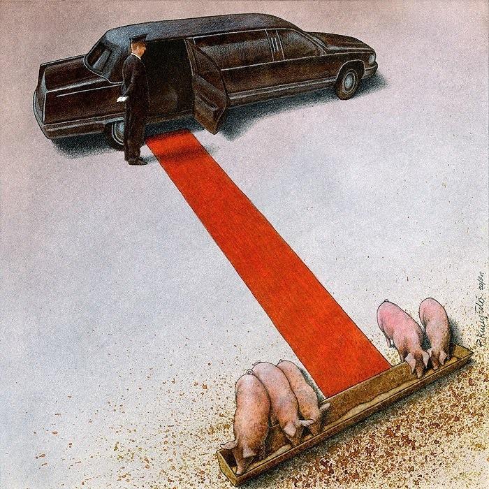 Karikatura: Pawel Kuczynski