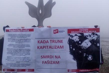 Radnička fronta u Jasenovcu – Kad trune kapitalizam smrdi nafašizam