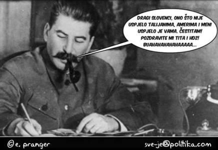 Staljinovo pismo Slovencima