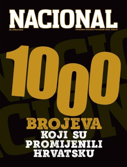 1.000 broj Nacionala