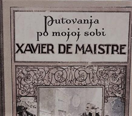 Putovanja po mojoj sobi, Xavier deMaistre