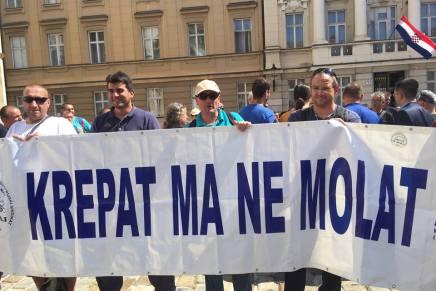 Izjava Radničke fronte povodom jučerašnjeg prosvjeda brodograditelja Uljanika i 3.maja
