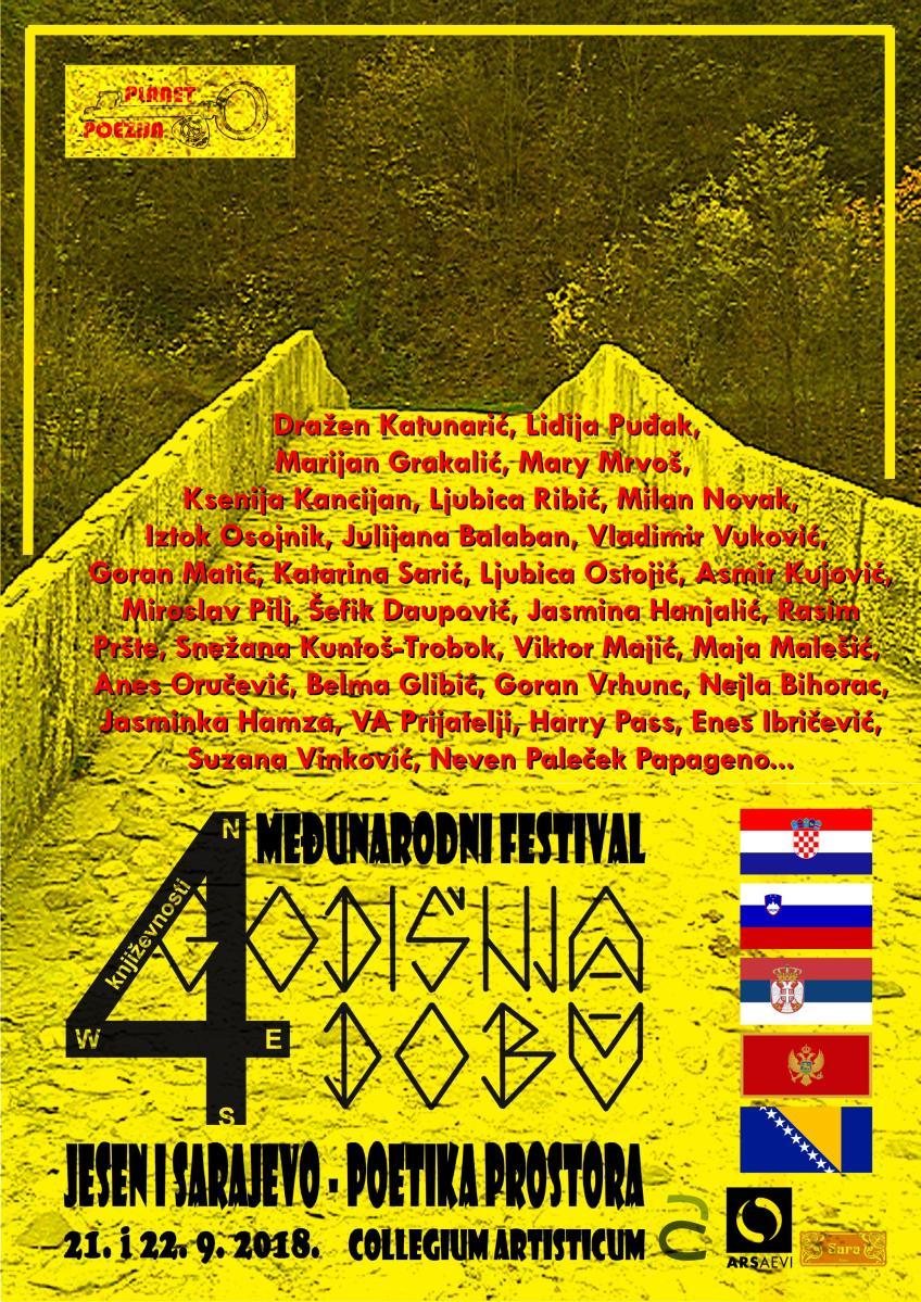 Festival četiri godišnja doba književnosti: Sarajevo - jesen