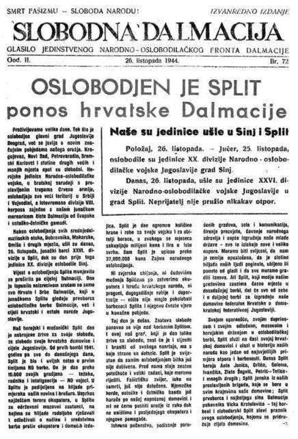 Uz obljetnicu oslobođena Splita – Cijeli grad otišao upartizane
