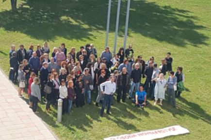 Protiv političke kontrole medija: Uz petominutni protest novinara naHRT-u