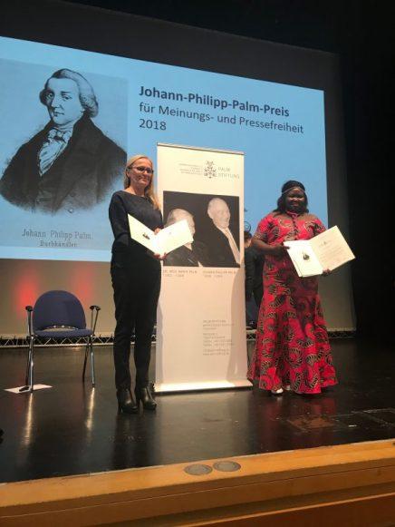 Štefica Galić primila nagradu Johan Philipp Palm: Ne odričem se zajedničke budućnosti svih nas uBiH