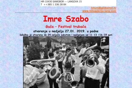 Izložba fotografija Imre Szabe: Guča – festivaltrubača