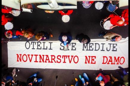 Podrška protestima novinara ili obranajavnosti!