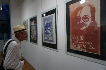 Izložba plakata Ivice Kiša u GalerijiFilakovac