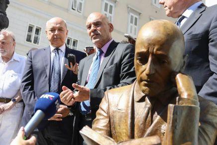 Zemlja u kojoj postoje ulice Mile Budaka nema se pravo buniti zbog spomenika talijanskompjesniku
