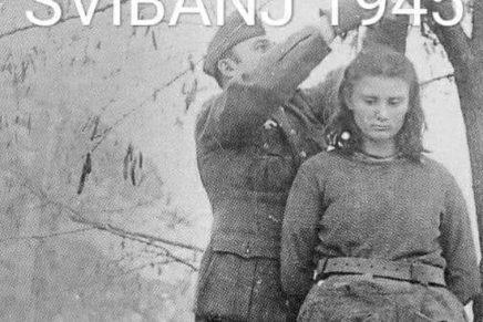 Sliku vješanja partizanke na društvenim mrežama predstavljaju kao partizanskizločin