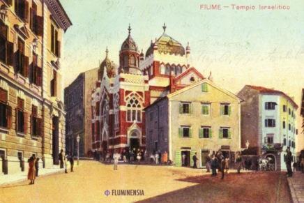 Velika riječka sinagoga i još većalaž