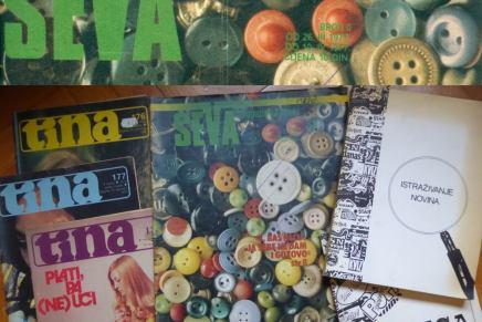 Pero Kvesić: Ševa, magazin zamlade
