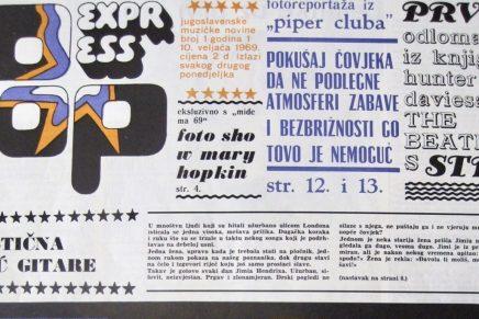 Veljko Despot: Uz prvi broj Popexpressa