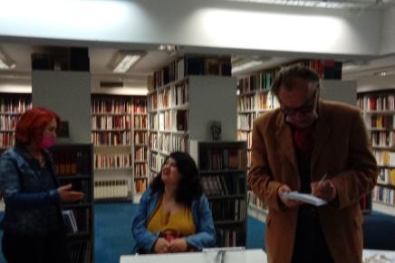 Promocija novih knjiga Milana Rakovca (Jovana Nikolaidisa) i Marijana Grakalića uZagrebu