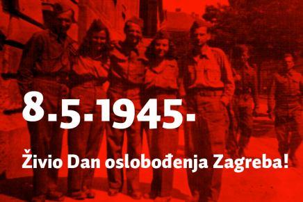 Sanja Bachrach Krištofić: Živio dan oslobođenjaZagreba