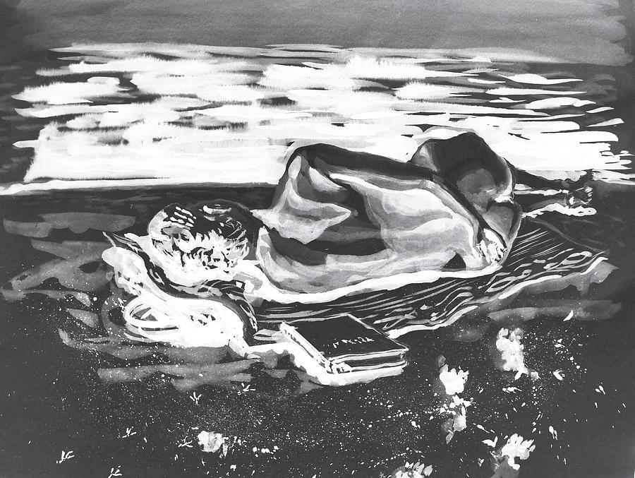 resting-at-the-ocean-shore-woman-model-with-a-book-irina-sztukowski