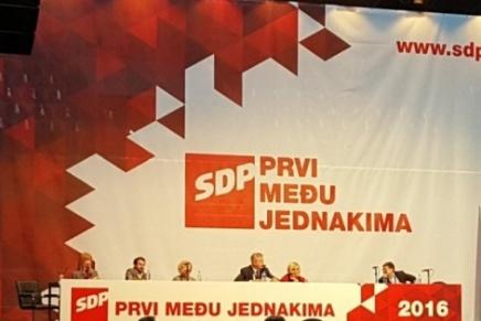 SDP, konačni pad