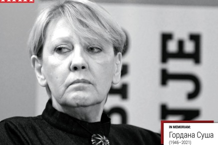 Gordana Suša – Odlazak novinarskelegende