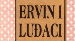 """Zorica Radaković: Dalibor Cvitan, roman – """"Ervin i luđaci""""; iz1992."""